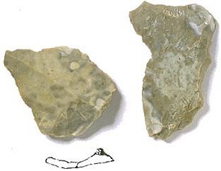 Jurahornstein der südöstlichen Frankenalb Typ2, Sesselfelsgrotte