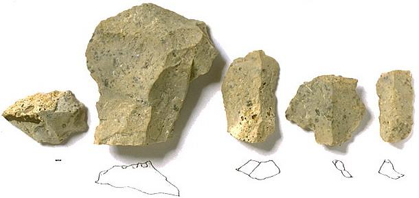 Jurahornstein Typ Adelschlag 2, Sesselfelsgrotte