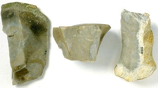 Kreidehornstein Typ Rohschwarz