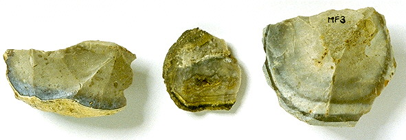 Jurahornstein der Ortenburger Kieselnierenkalke Typ Maierhof