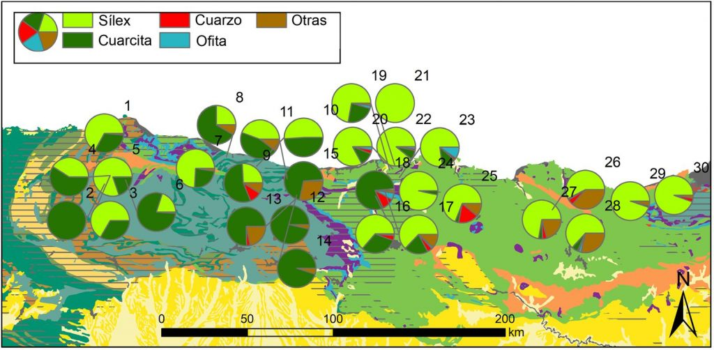 "Zur Seite ""Procurement and management of quartzite in the Cantabrian Region: The Middle and Upper Palaeolithic in the Deva, Cares and Güeña Valleys"""