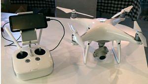 Die neue Phantom 4 Pro der UFG – noch ohne Luftfahrt-Kennung.