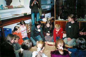 Kindergeburtstag mit der Vorzeitkiste
