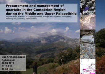 "Zur Seite ""From Cantabrian Region to Central Europe: economic territories and procurement and management of quartzites by Palaeolithic societies"""