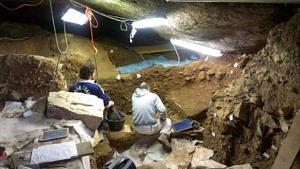 Rio Secco, Clauzetto. Situation der Ausgrabung im Jahr 2012 (© Andreas Pastoors).